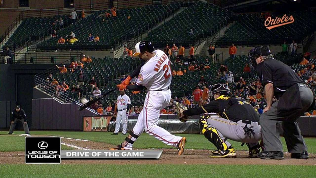Mother's Day has special meaning for Markakis