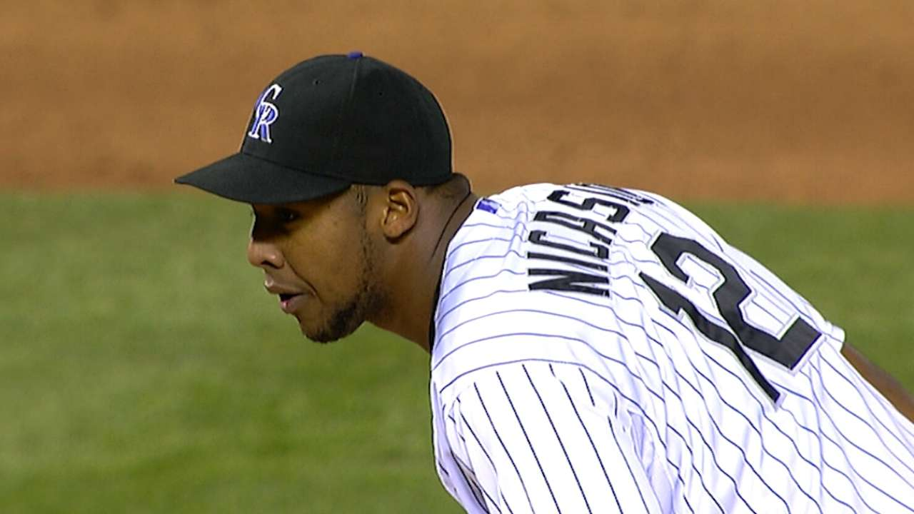 Nicasio does it all as Rockies take down Mets