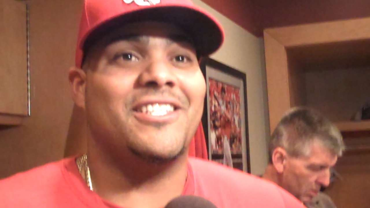 Pena values being 'great teammate' above all else