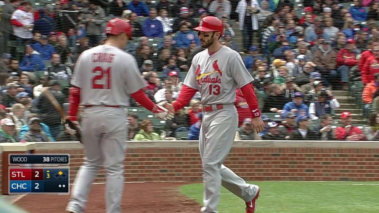 Matheny going with hot bats in Cards' lineup