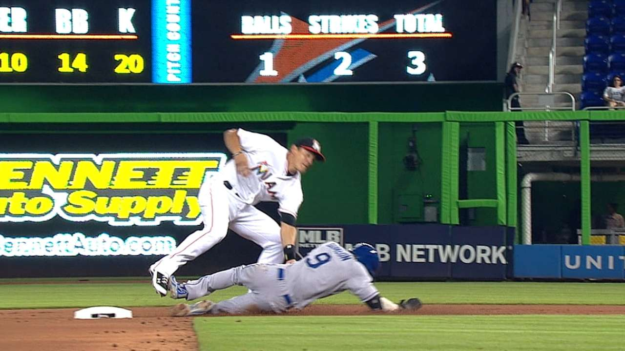 Marlins, Dodgers both win challenges at second