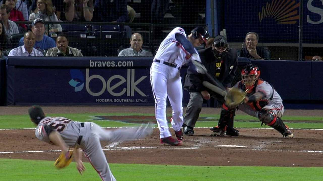 Braves seek better results with RISP