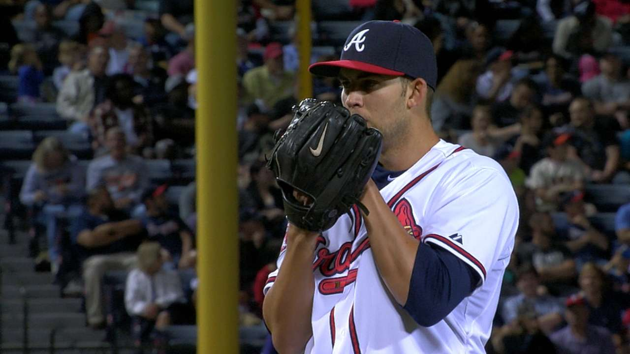 Minor solid in return, but Braves stifled by Giants