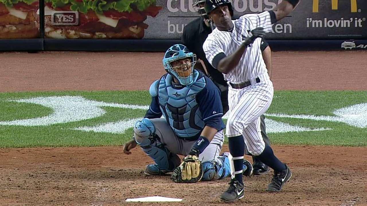 Yankees caen con Rays en maratónico encuentro
