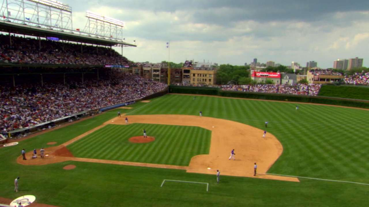 Centennial Seats to honor Wrigley's history