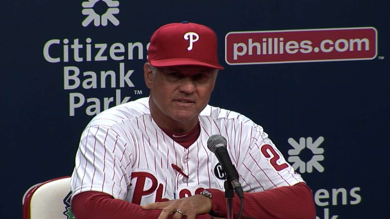 Sandberg pleased with Phils' response after meeting