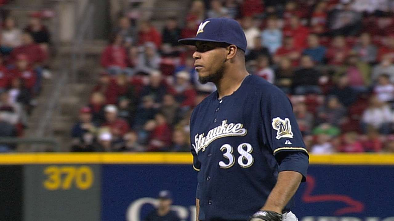 Peralta does it all with eight scoreless, two RBIs
