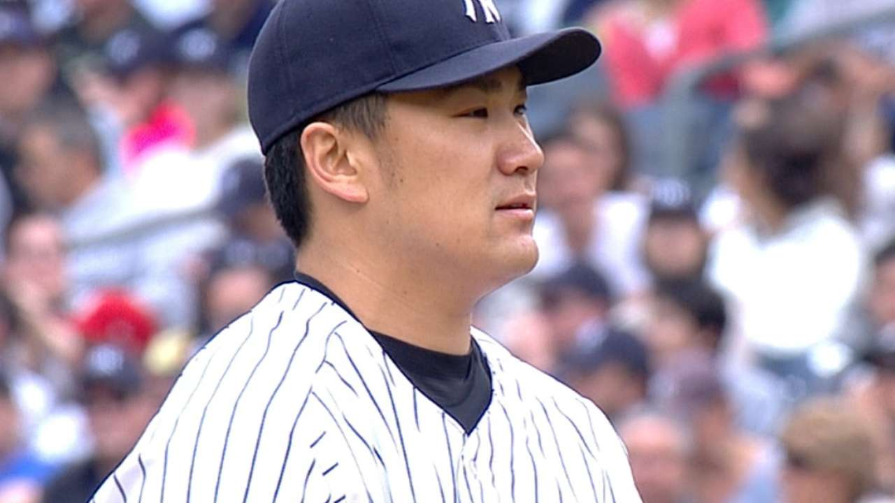 Tanaka prepping for first big league at-bats