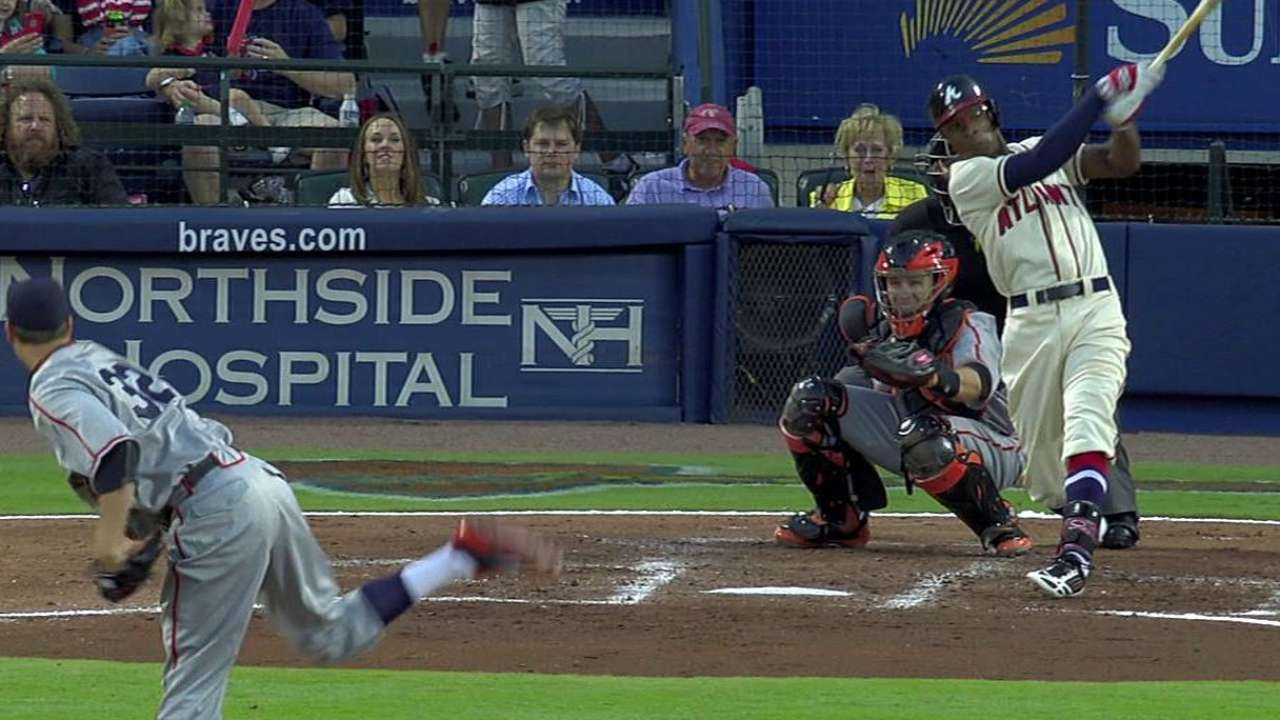 Slumping Braves lose fifth straight game