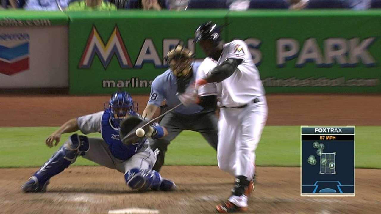 Ozuna produce 3 pero Marlins caen con Dodgers