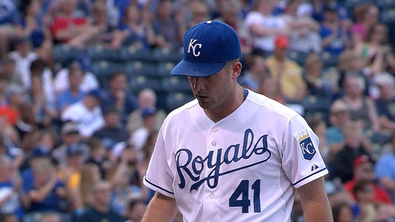 Royals' offense sputters in Duffy's first start