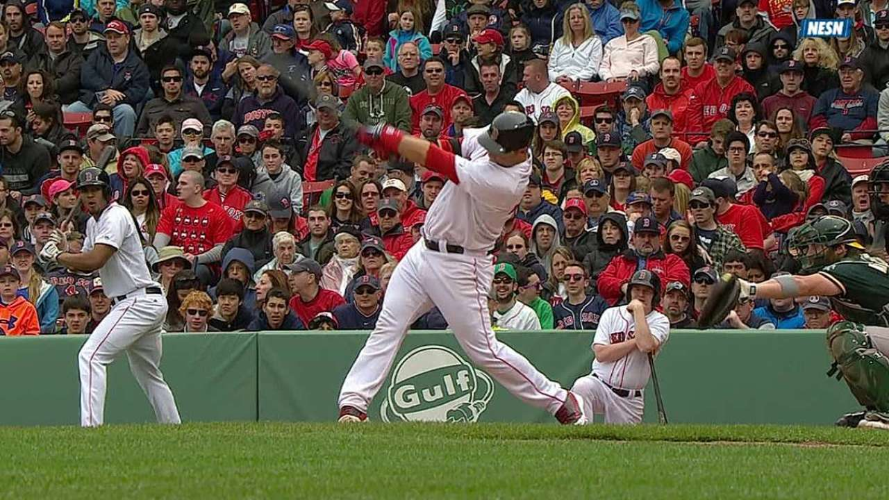 Red Sox drop tight finale to A's in 10 innings