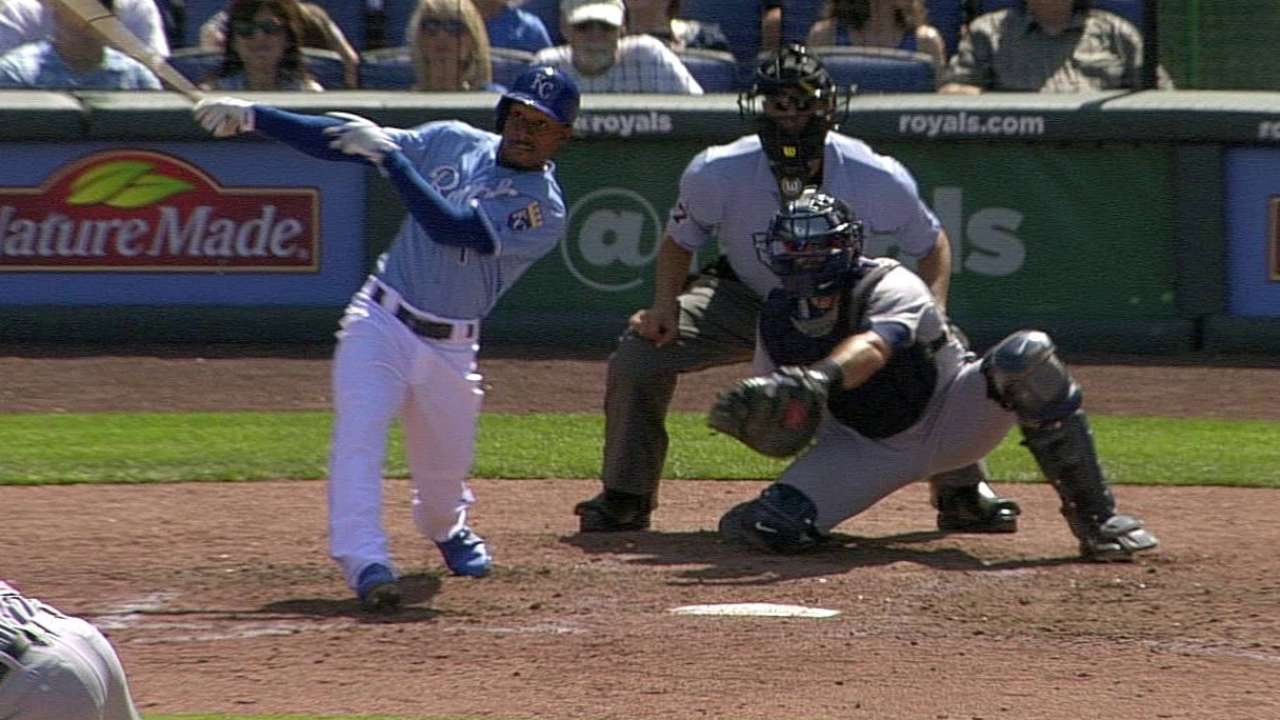 Royals stymied in pursuit of first-place Tigers