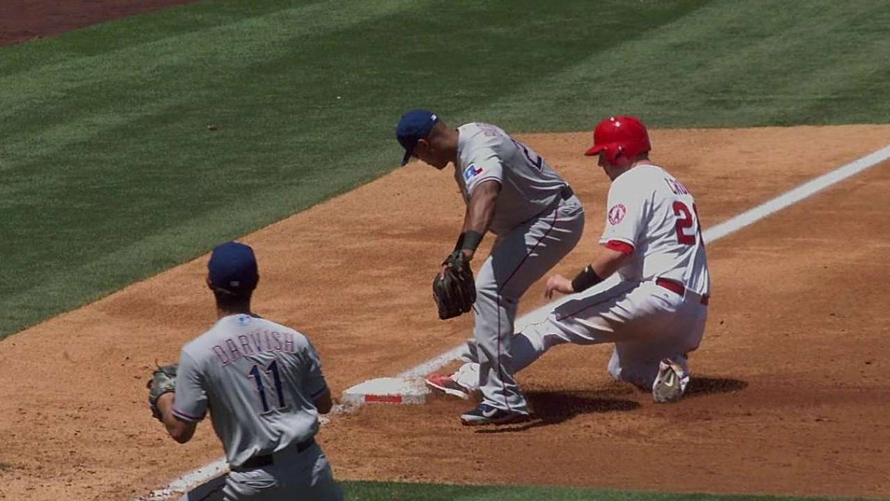 Darvish's spectacular play gets help from replay