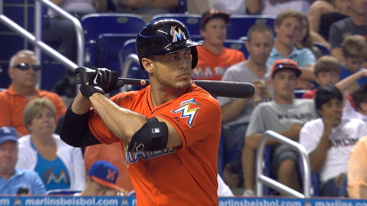 Stanton has strong opening month by using whole field