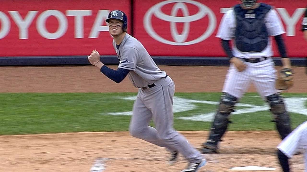 Myers ayuda a Rays a llevarse la serie ante Yankees