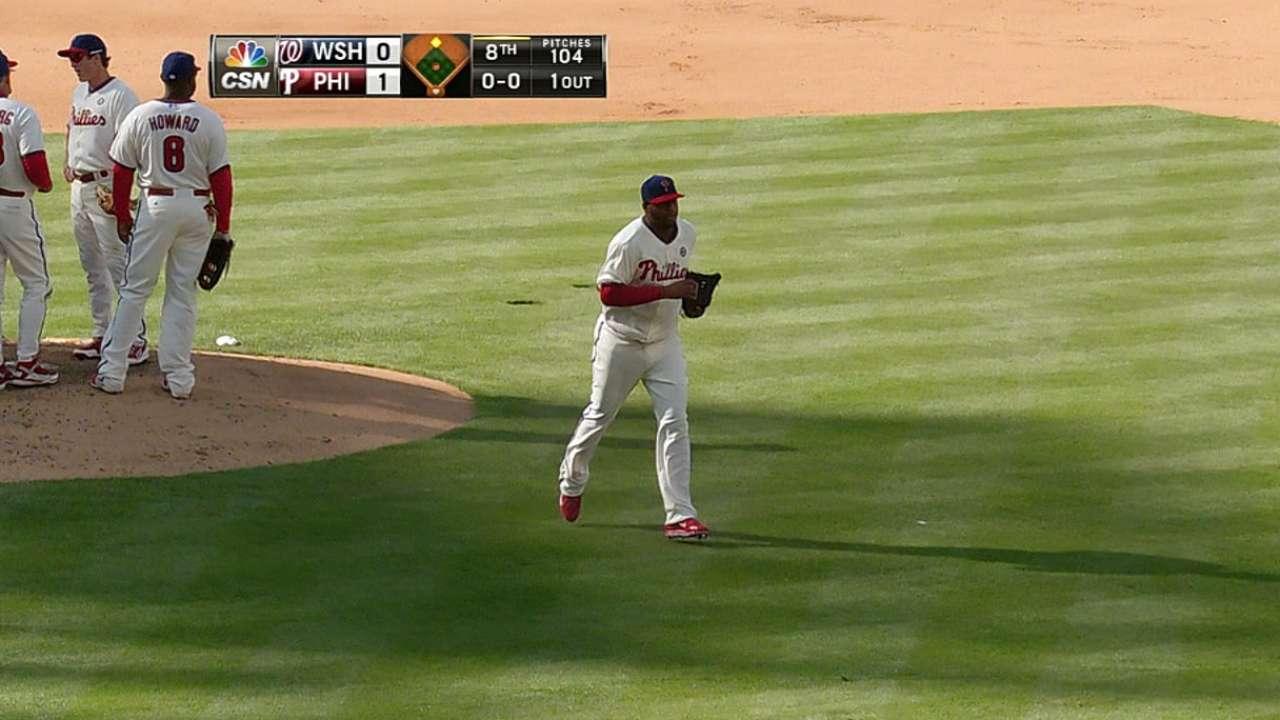 Phils shuffle rotation; R. Hernandez skipped