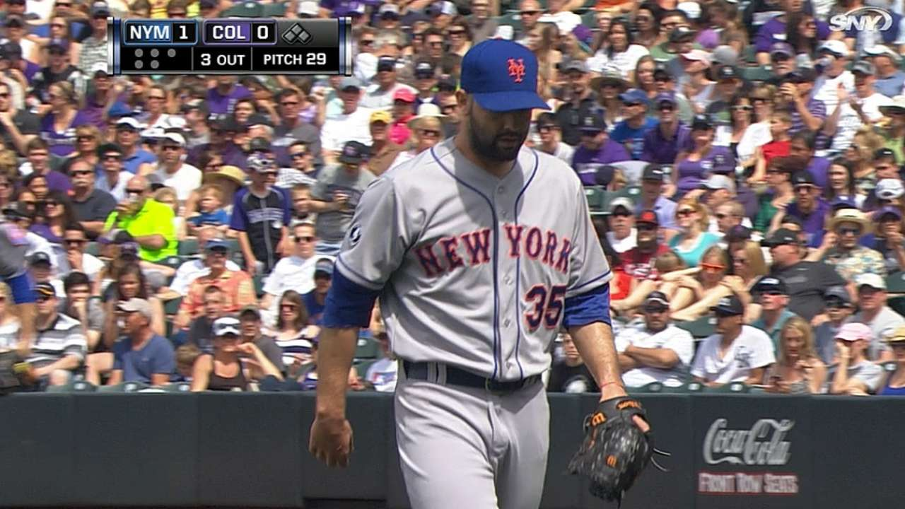 Mets place Gee on disabled list with lat strain