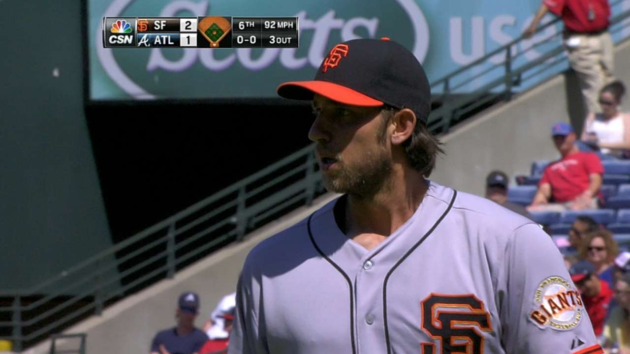Bumgarner's great outing