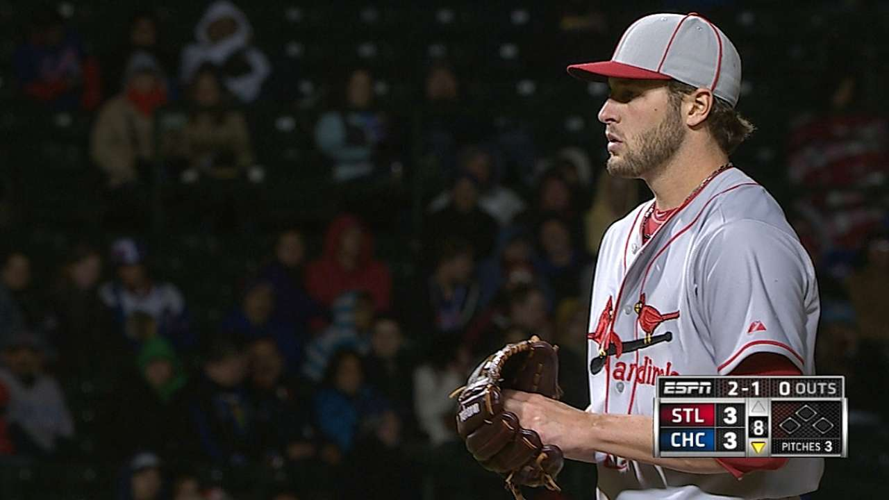 Siegrist 'probably 100 percent' on road back to Cards