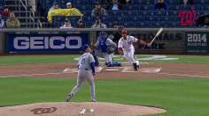 Worth the wait: Nats reign in soggy series opener
