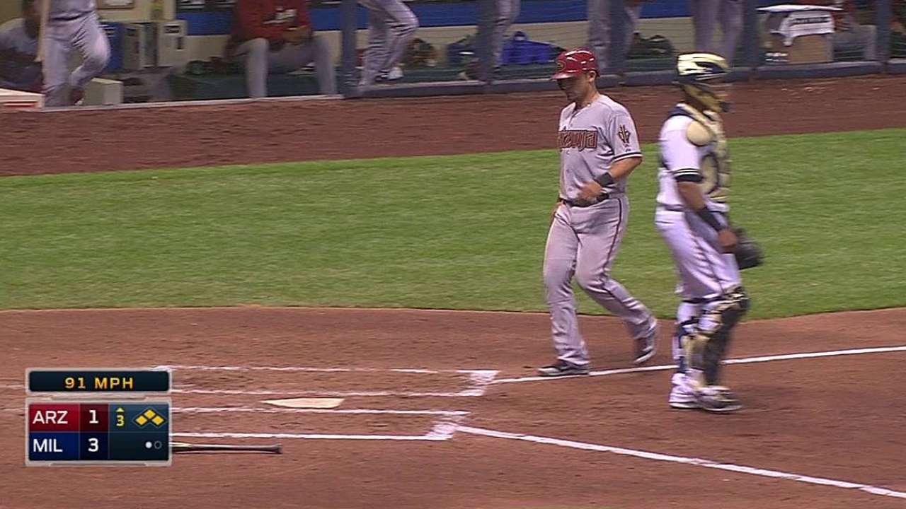 Bolsinger y Delgado fallaron ante bates de Milwaukee