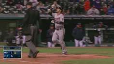 Escobar, Twins break through in extra innings