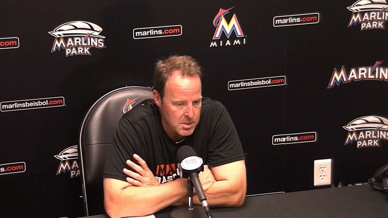 Team-first philosophy paying off for Marlins