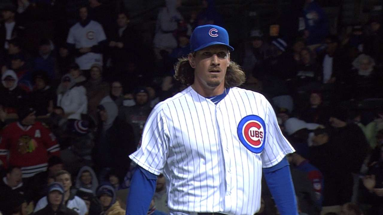 Cubs GM: Samardzija's pitch count a 'non-story'