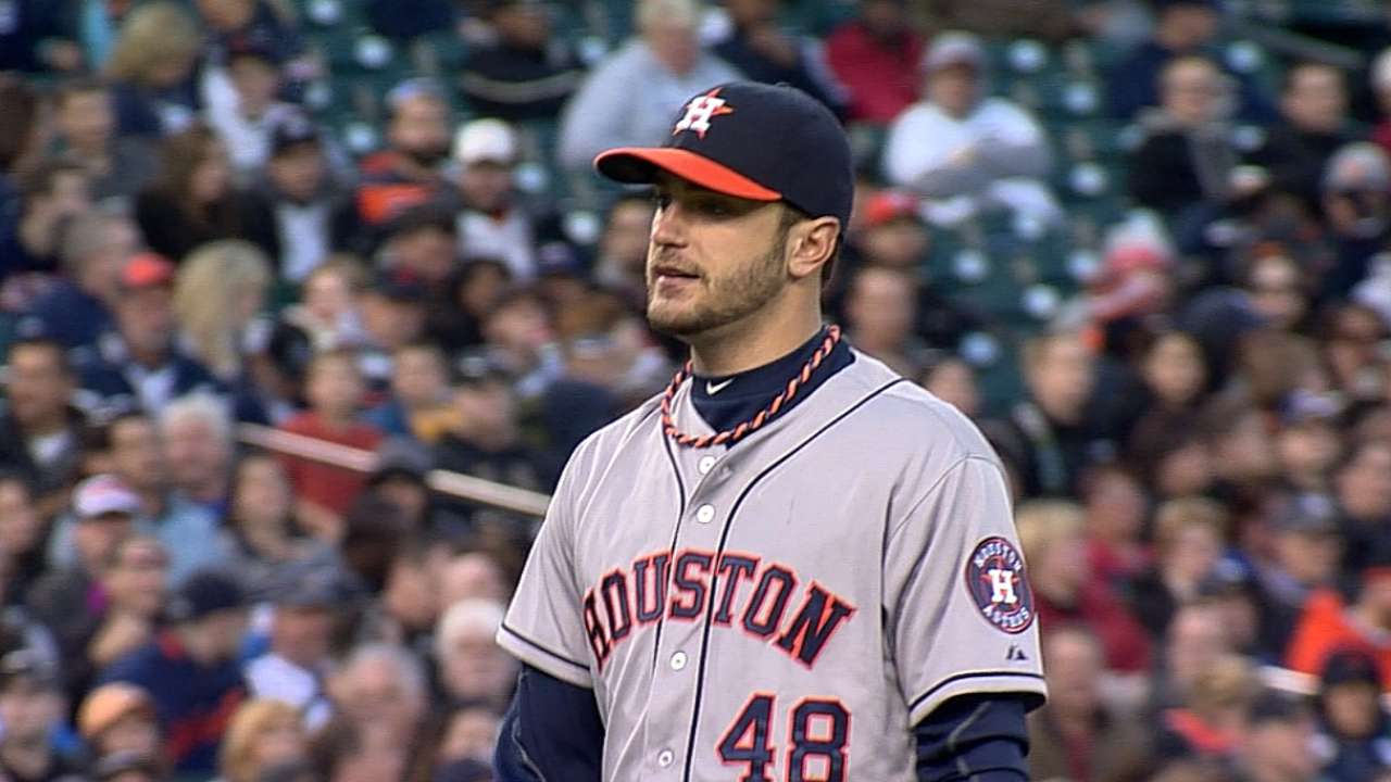 Cosart's strong effort goes unrewarded in Detroit