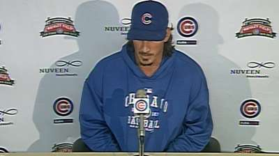 Samardzija winless but clearly the Cubs' ace