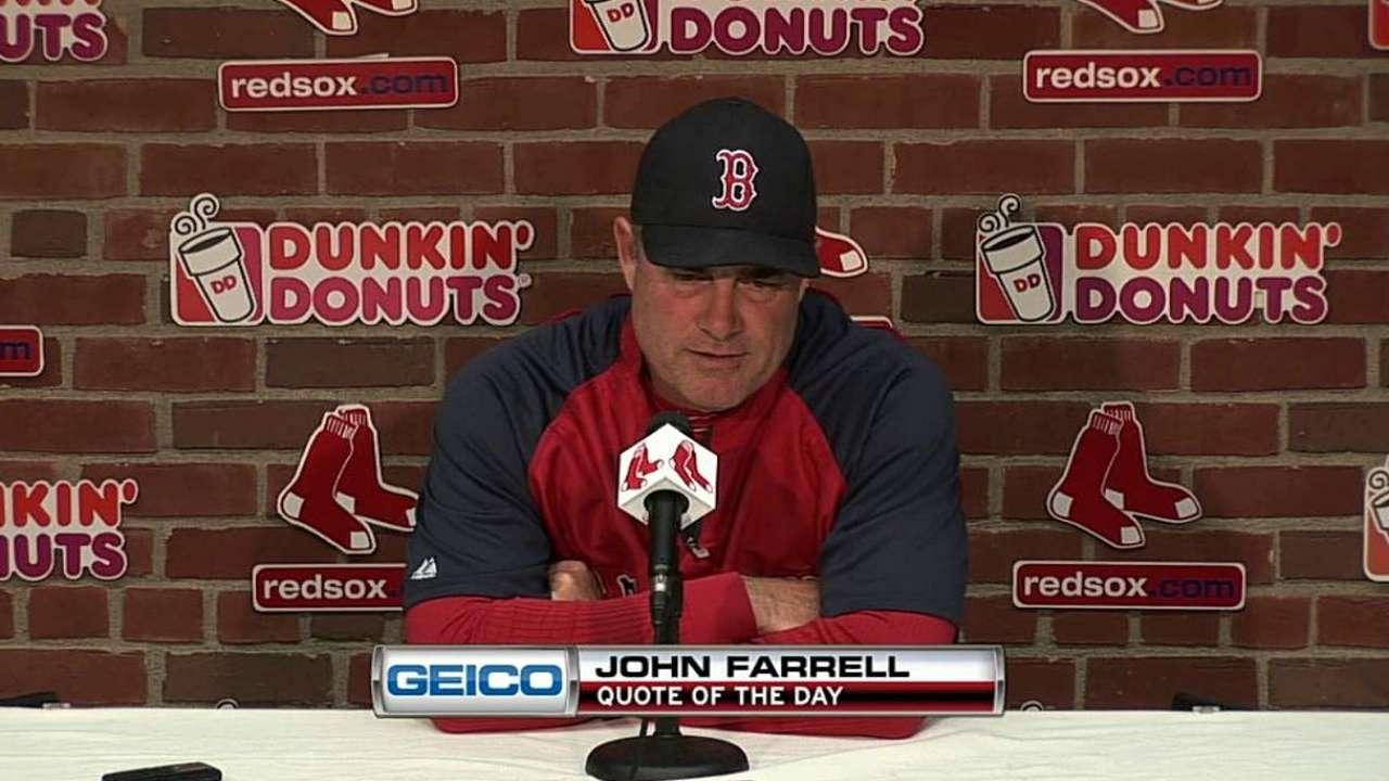 Despite lack of familiarity, Farrell confident vs. Reds