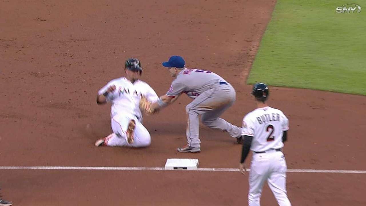 Ofensiva de Mets fue dominada por Álvarez y Marlins
