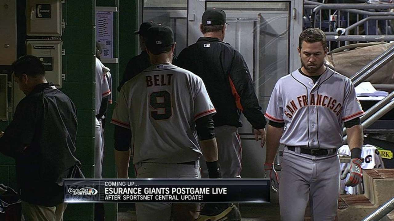 Giants fall to Pirates on overturned call in ninth