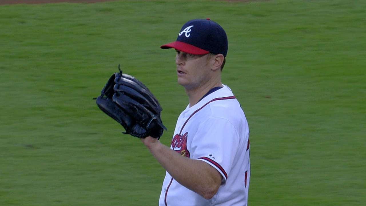 Braves weigh rotation options, but Floyd has spot
