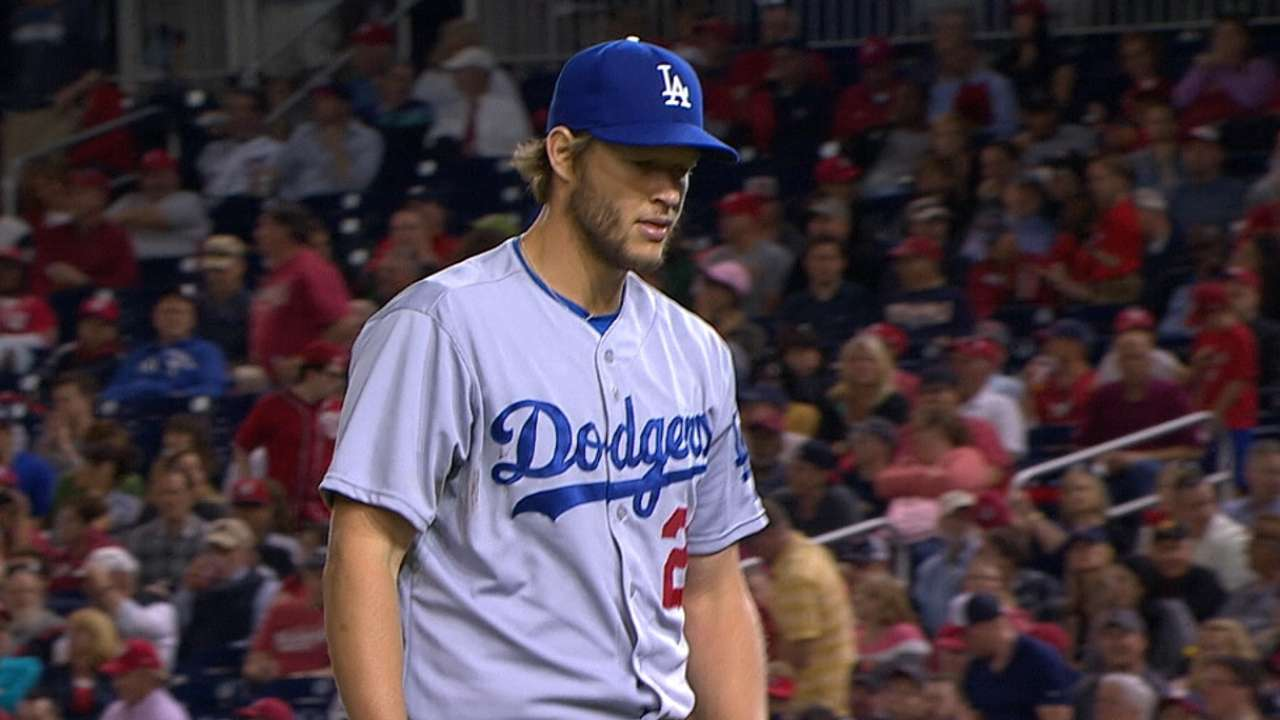 Kershaw on mound? Dodgers like sound of that