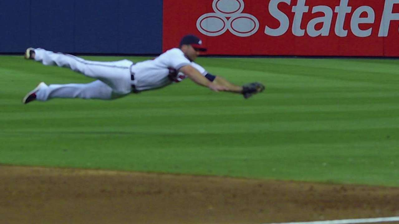 Uggla starts at second base as Braves shuffle lineup