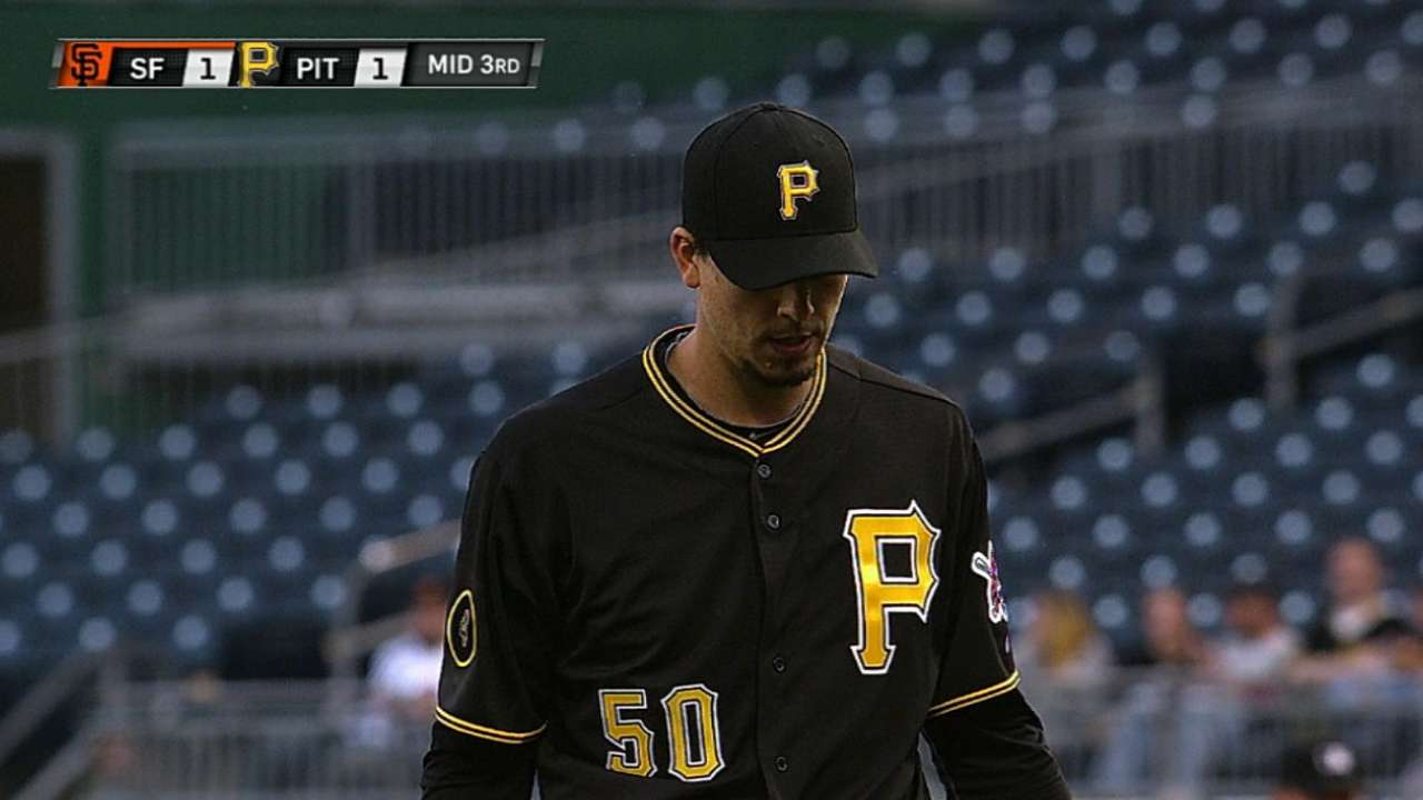 Pirates pitchers weigh in on pitch execution