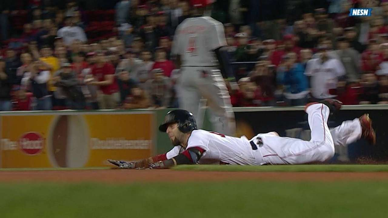 Farrell: Pedroia is 'the guy for us' at leadoff