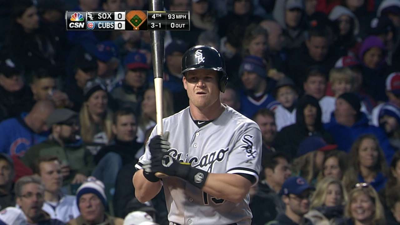 Beckham's patience at the plate pays off