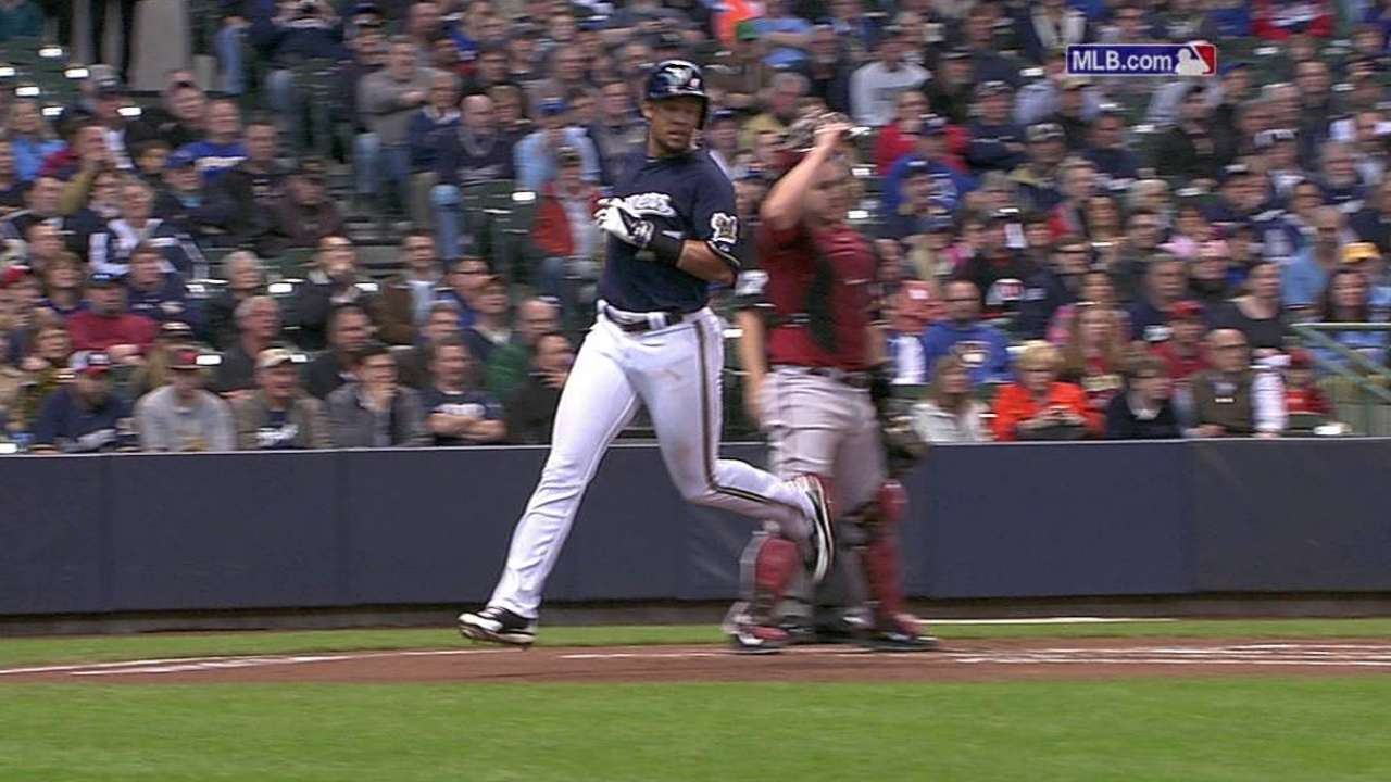 Peralta takes tough loss as offense held in check