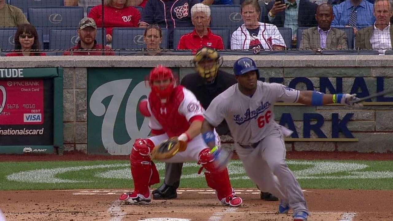 Ataque de Dodgers frenado en derrota vs. Nacionales