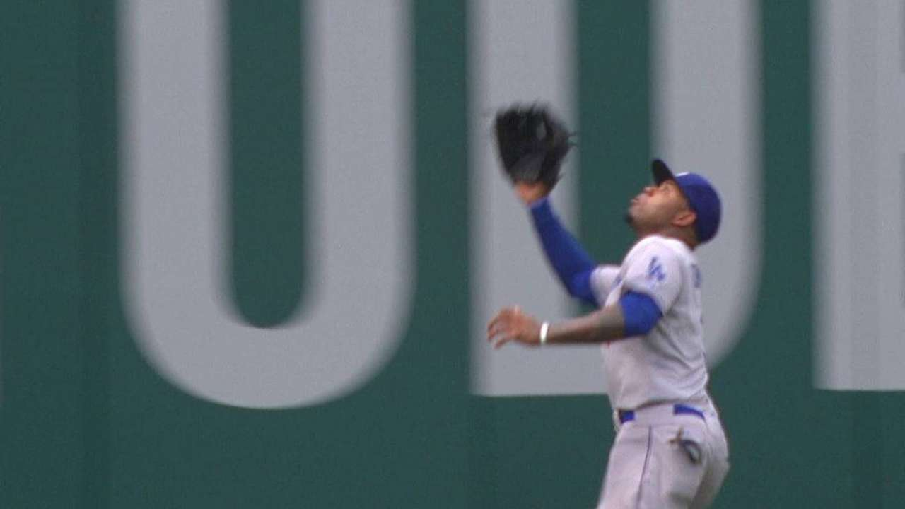 Dodgers cool off after first, drop series finale