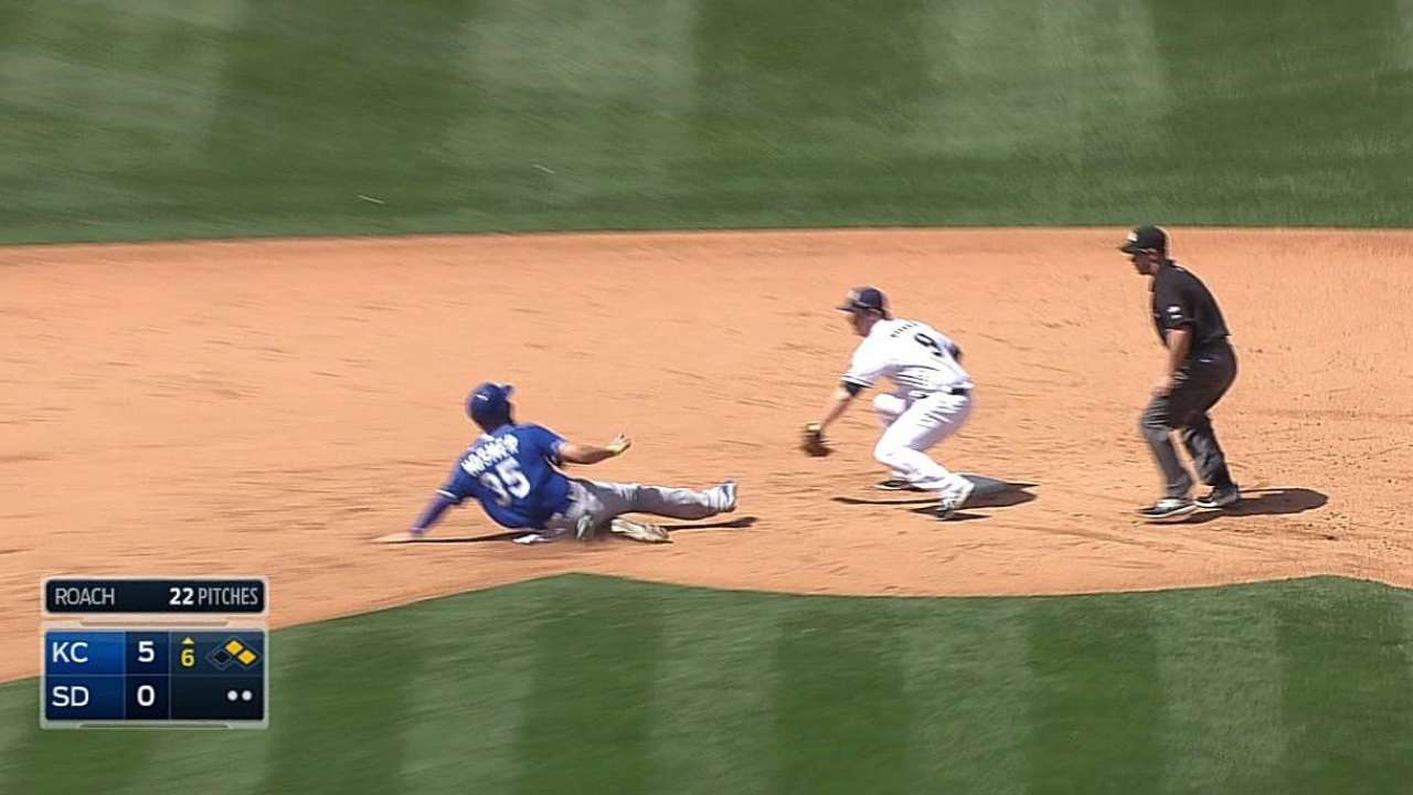 Padres stymied in rubber-game loss to Royals
