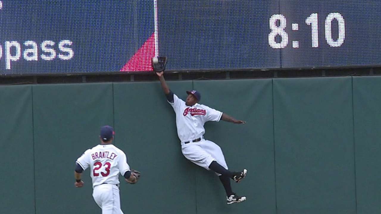 'T. Plush' appears on Morgan's outstanding catch
