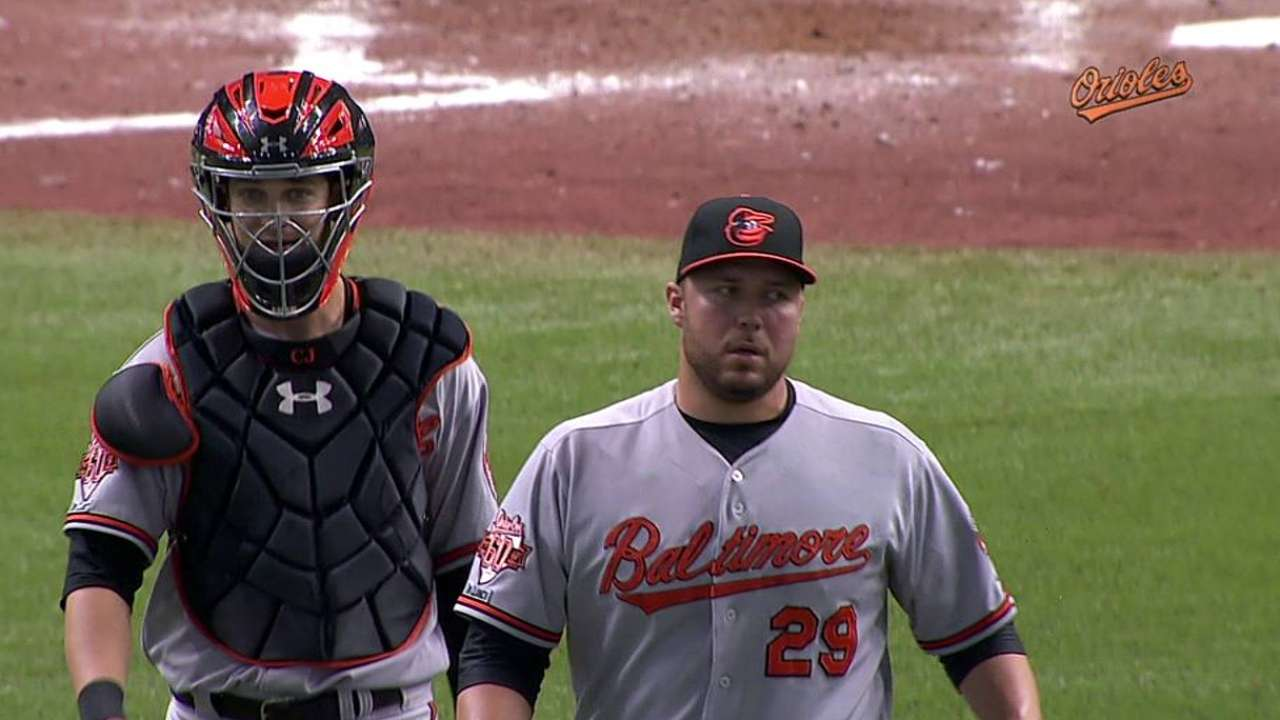 Showalter making sure Hunter, Matusz see action