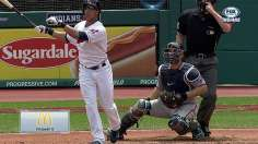 Asdrubal, Brantley team up to take down Twins