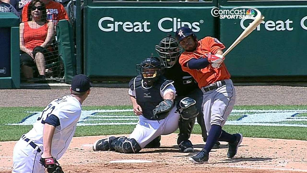 Los Astros frenaron racha ganadora de los Tigres