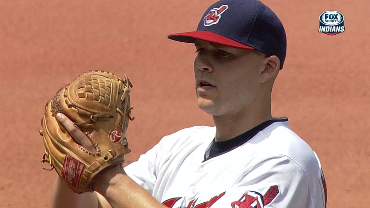 Masterson steps up by starting on short rest