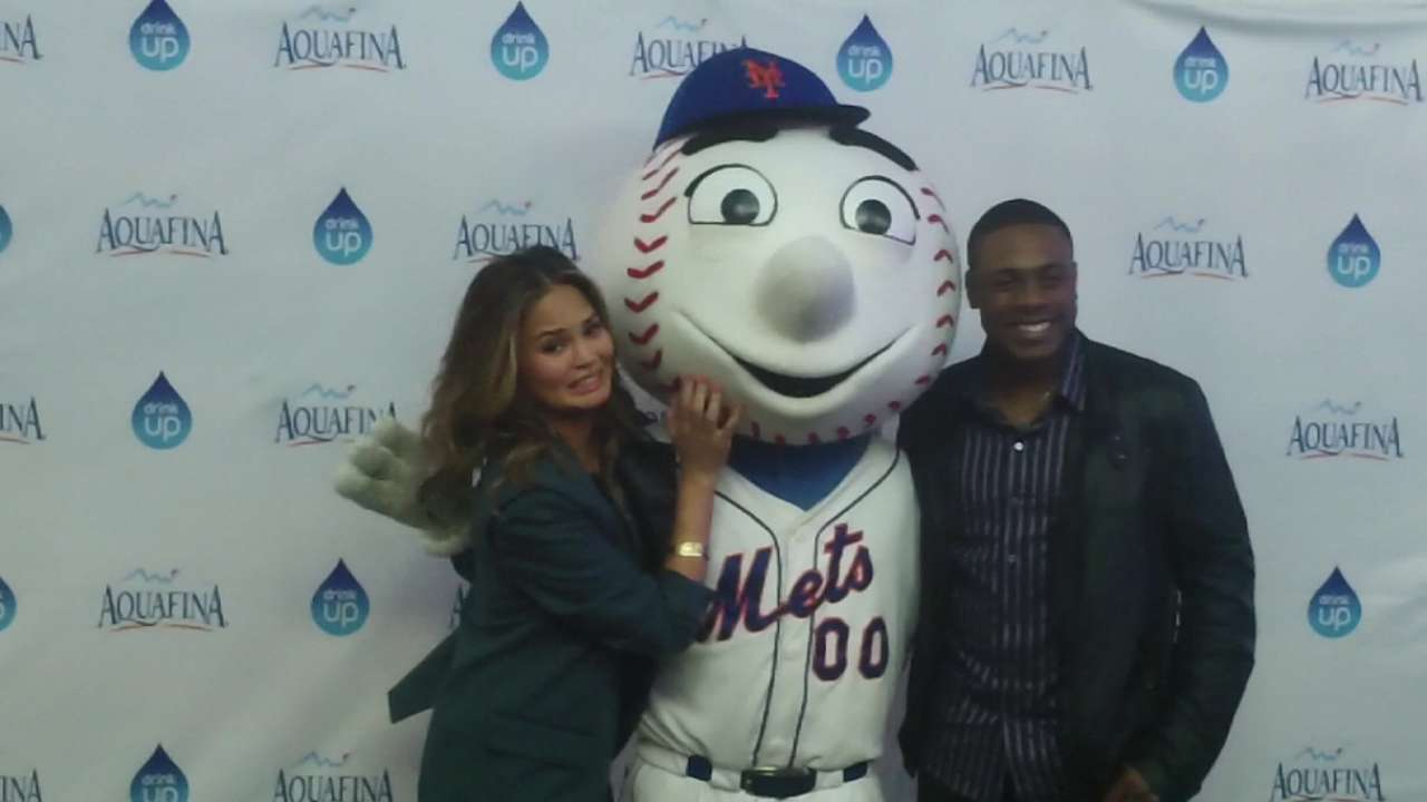 Granderson, Aquafina team up for All-Star sweeps